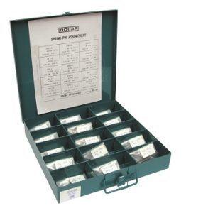 Spring Pin Kit 240 PCS -15 Sizes