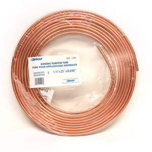 1/4x25 Copper Tubing