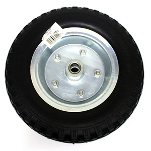 "12"" Flat Free Heavy Duty Hand Truck Wheel"
