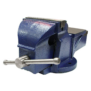 Stationary Vise with Anvil 8″
