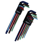 Imperial and Metric Double Ballend Colorguard Hex Key Set